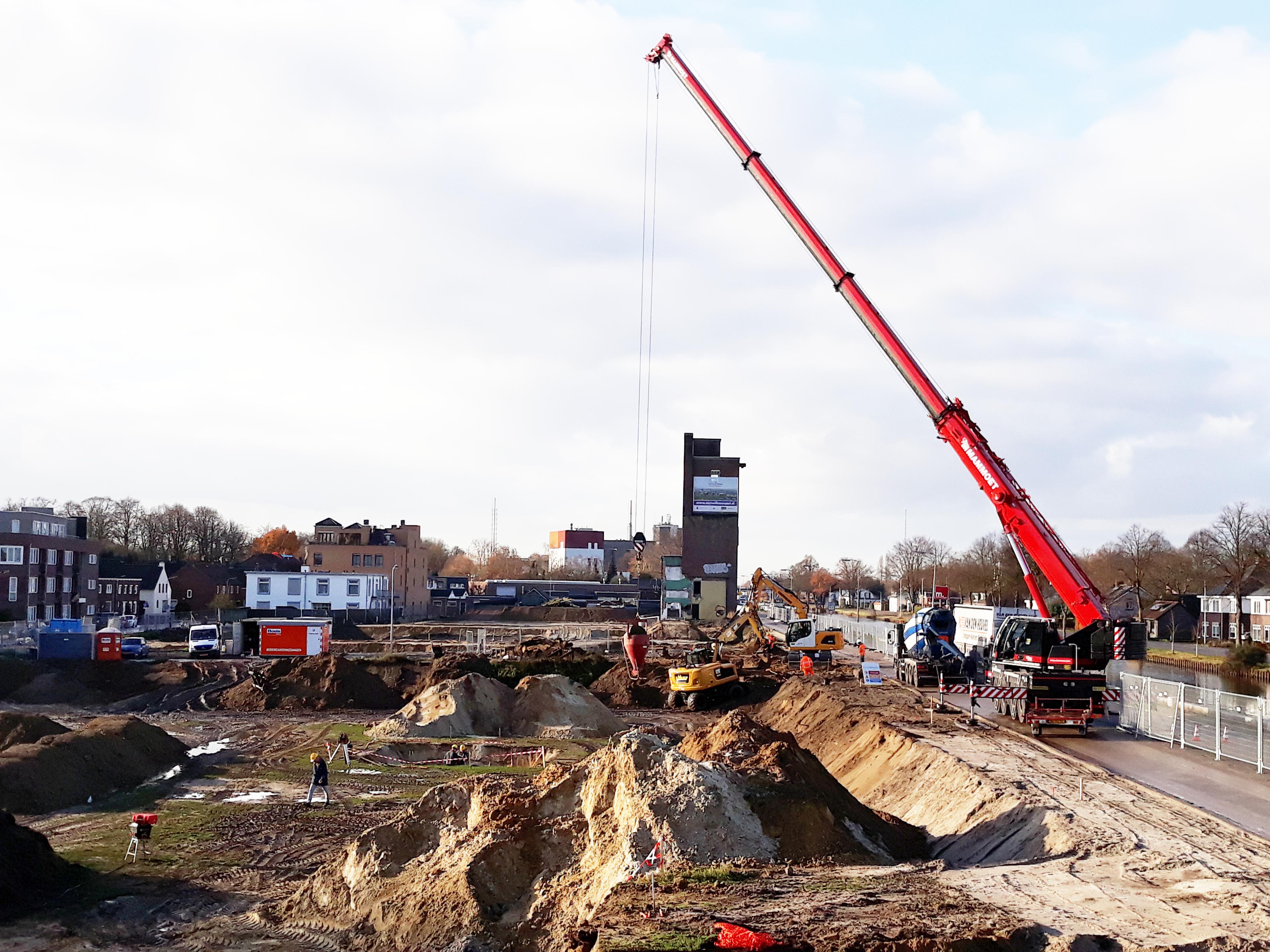 De 1e stort van het project Werthaboulevard in Weert