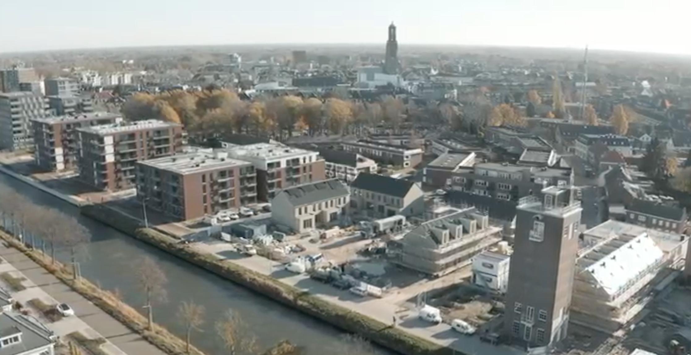 Park Zuytwillemsvaert afgerond met watervilla's