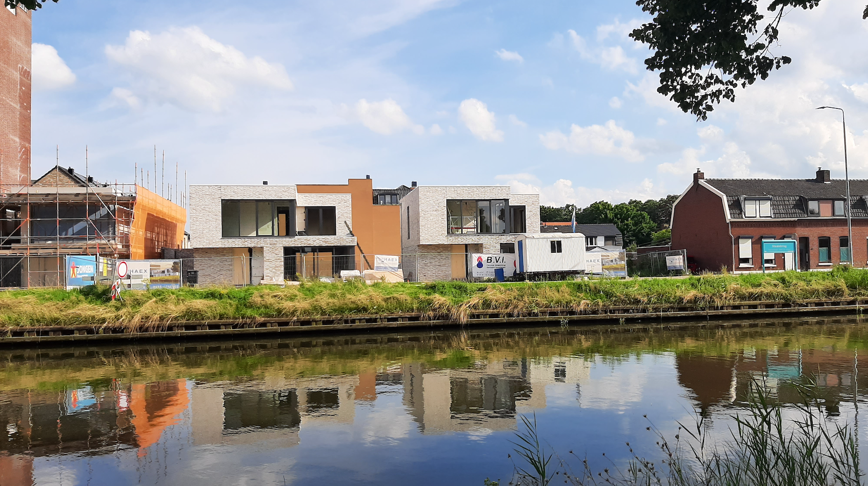 Watervilla's krijgen steeds meer vorm
